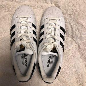 Slightly used Adidas Superstar